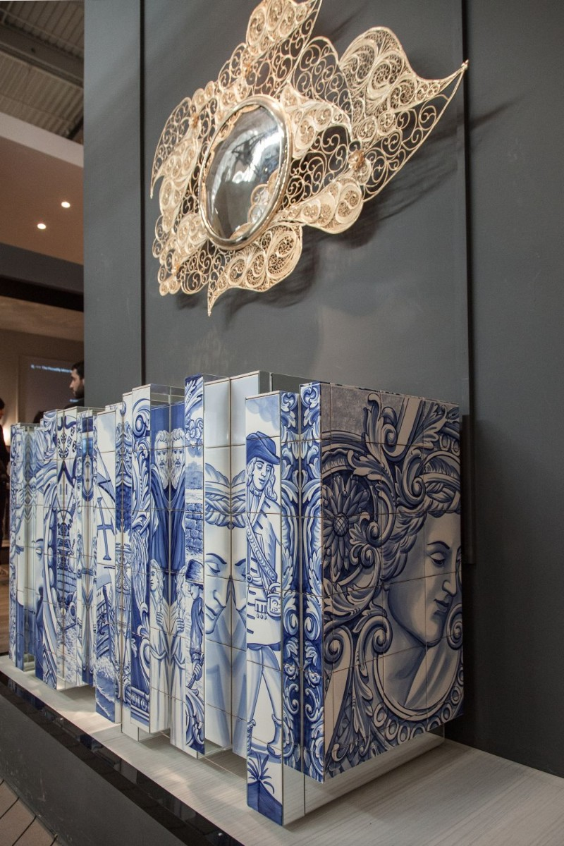 Azulejo The Azulejo Technique Behind Boca do Lobo's Heritage Collection Heritage Sideboard by Boca do Lobo 2