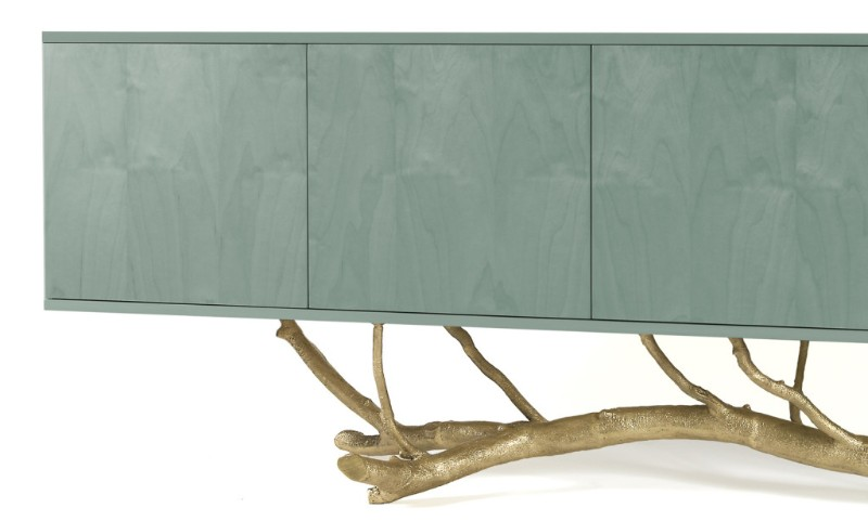luxurious design Discover 10 Nature Inspired Sideboard With A Luxurious Design GJ MAGNOLIA SIDEBOARD