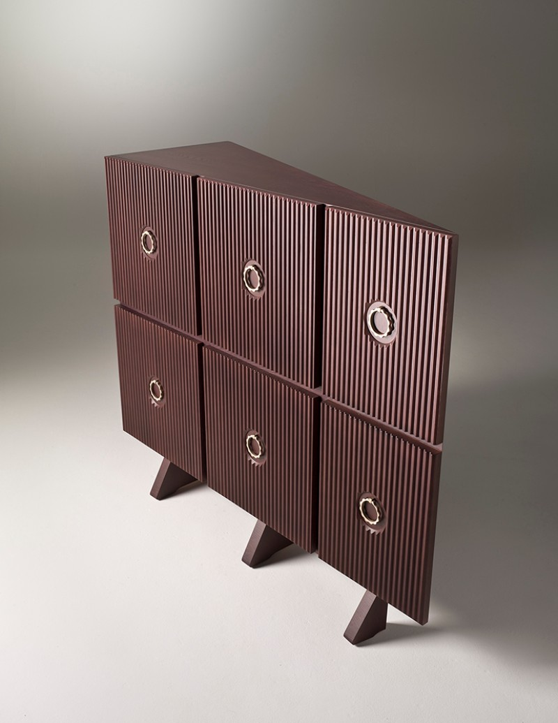 geometric design Buffets and Cabinets with a Geometric Design Muriel fratelli boffi