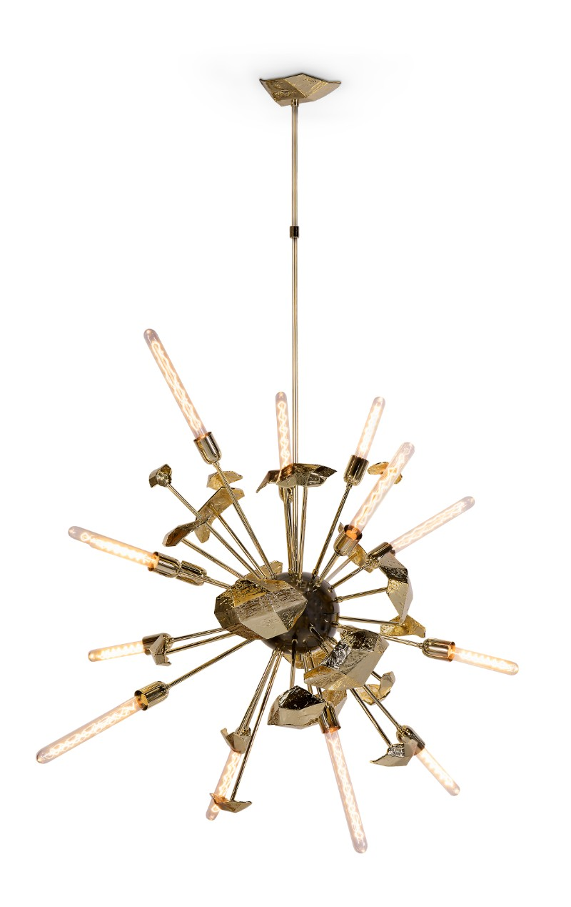 Maison et Objet Discover What Boca do Lobo Has to Offer at Maison et Objet 2018 Supernova Chandelier