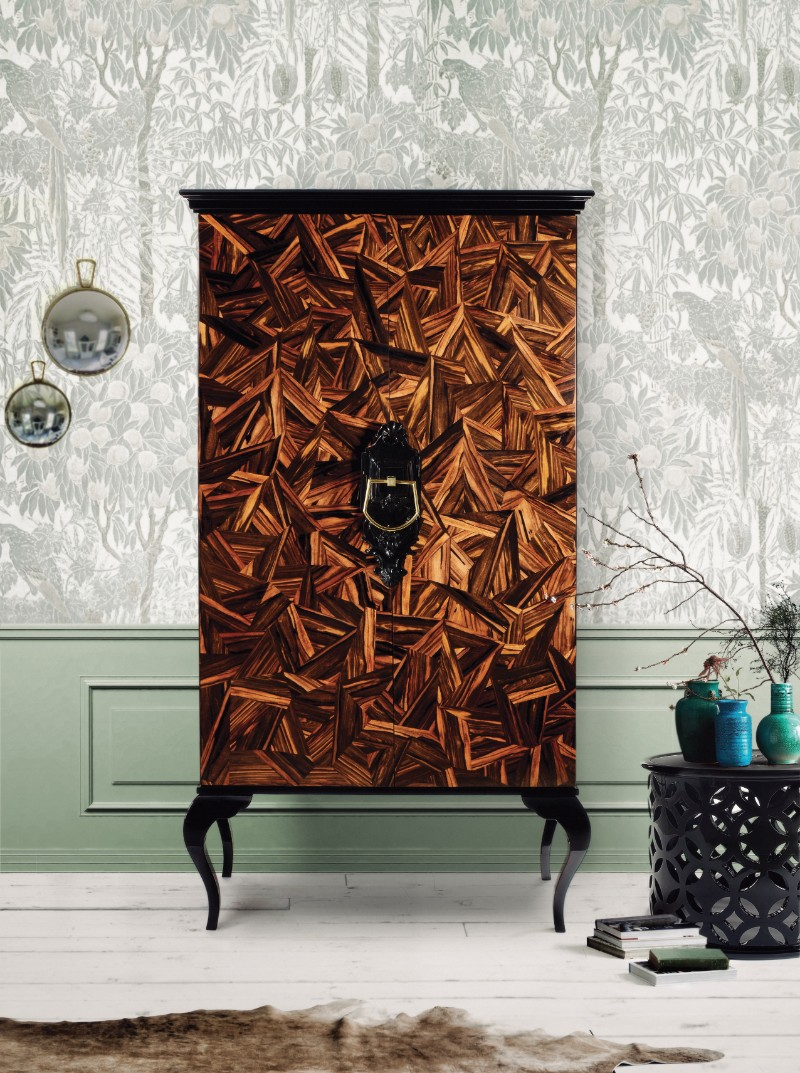 wood cabinets Exclusive Wood Cabinets With Unique Designs guggenheim patch bocadolobo
