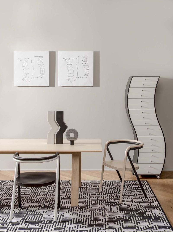 geometric design Buffets and Cabinets with a Geometric Design progetti compiuti