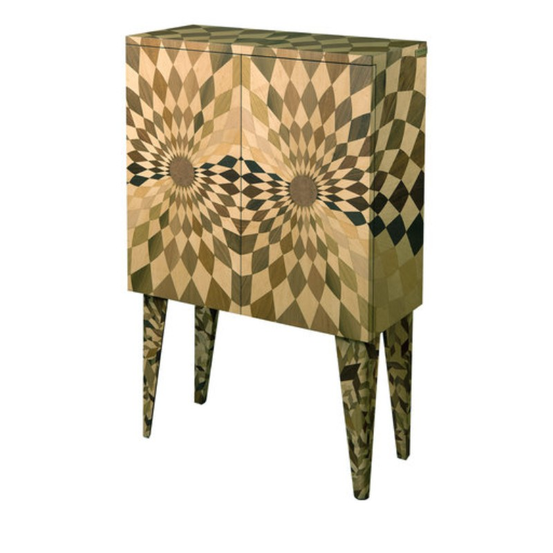geometric design, buffets and cabinets, living spaces, buffets and sideboards, luxury brands, exclusive design, luxury interior design geometric design Buffets and Cabinets with a Geometric Design stereograf