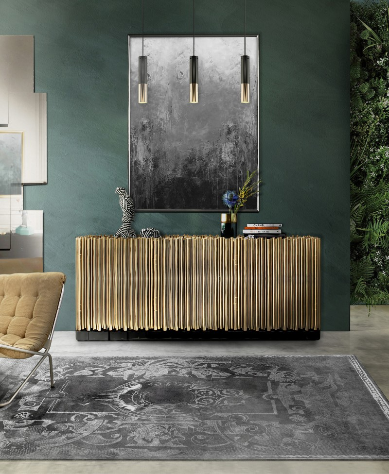 lighting ideas, buffets and cabinets, buffet lamps, buffet table lamps, buffets and sideboards, luxury brands, exclusive design, luxury interior design lighting ideas Must-See Lighting Ideas To Match your Sideboards symphony sideboard 1