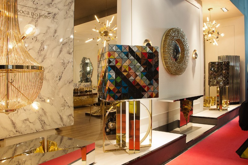 design exhibition iSaloni Moscow : What we will see at this marvelous Design Exhibition Covet House At iSaloni Moscow 2018 bocadolobo