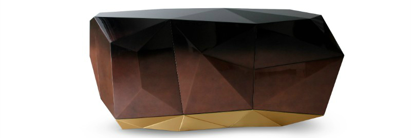 diamond Discover the Exquisite Diamond Family from Boca do Lobo diamond chocolate sideboard boca do lobo 04
