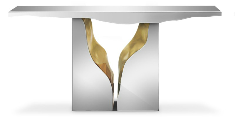 living room The ultimate luxurious idea for a glamorous living room lapiaz console bocadolobo