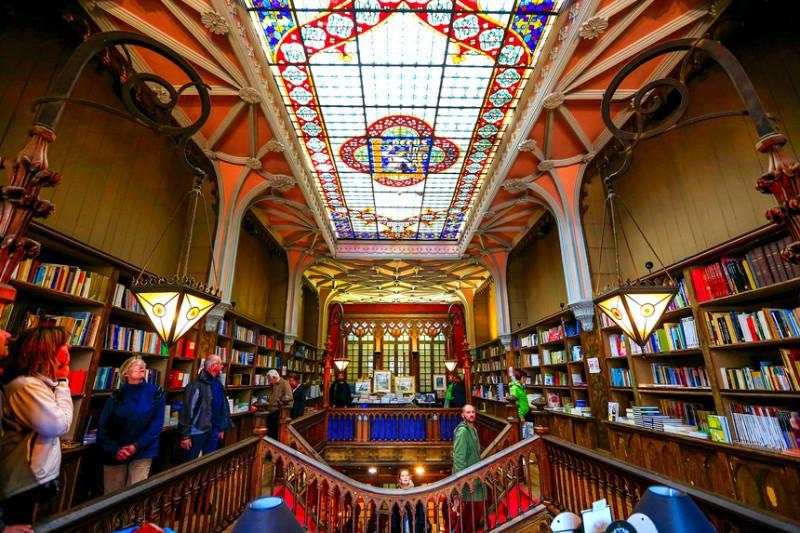 city guide City Guide: Porto's wonderful aesthetics livraria lello