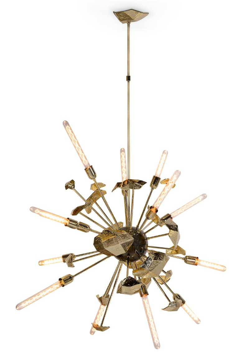 design exhibition iSaloni Moscow : What we will see at this marvelous Design Exhibition supernova chandelier