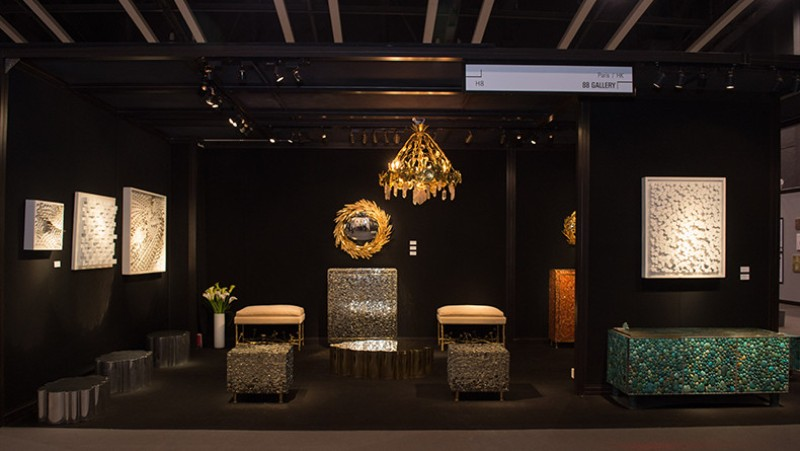 art galleries Discover The Best Buffets And Cabinets From Maison Rapin Art Galleries Fine Art Asia 2015