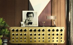 Modern Buffets for a dining room design delightfull monocles vintage retro urban wood brass sideboard 01 240x150
