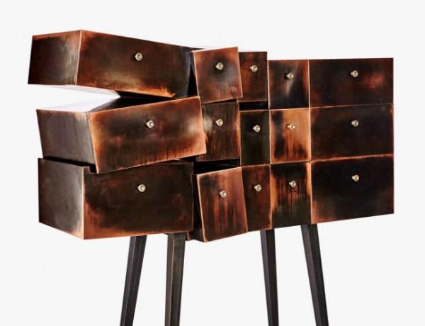 erwan boulloud Sculptural Buffets and Cabinets by Erwan Boulloud Sculptural Buffets and Cabinets by Erwan Boulloud 15 600x460
