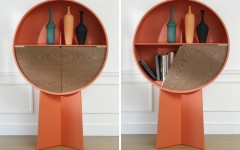 Patricia Urquiola Luna Circular Cabinet by Patricia Urquiola collage 240x150