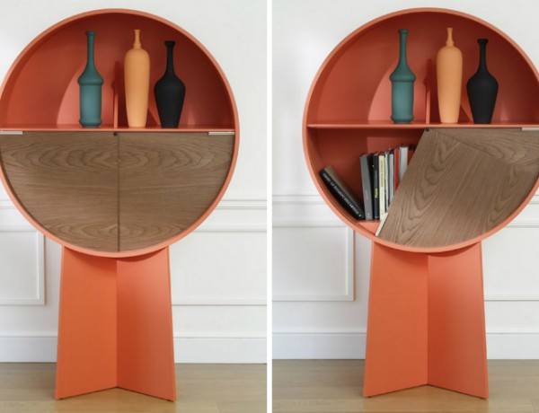 Patricia Urquiola Luna Circular Cabinet by Patricia Urquiola collage 600x460