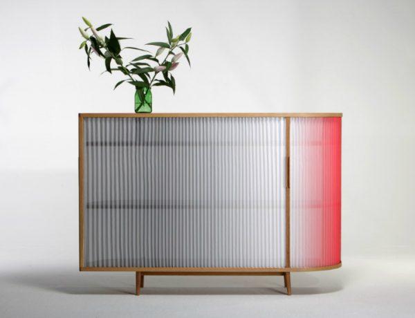 Plissee Sideboard Plissee Sideboard by Anne Boenisch Plissee Sideboard by Anne Boenisch 7 600x460