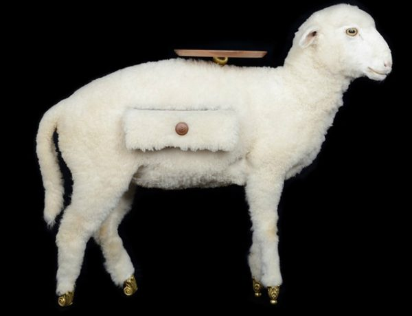 Salvador Dalí Taxidermy Sheep Cabinet Joins Salvador Dalí Furniture Collection Taxidermy Sheep Cabinet Joins Salvador Dal   Furniture Collection 1 1 600x460