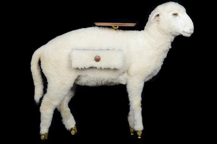 Salvador Dalí Taxidermy Sheep Cabinet Joins Salvador Dalí Furniture Collection Taxidermy Sheep Cabinet Joins Salvador Dal   Furniture Collection 1 1 100% design london The Best Creative Designs in 100% Design London Taxidermy Sheep Cabinet Joins Salvador Dal C3 AD Furniture Collection 1 1