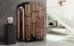 bar cabinet Creative Metal Bar Cabinet Design by Boca do Lobo Featured Image 1 240x150