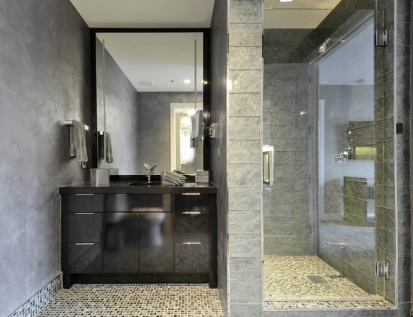 black cabinet ideas Best Black Cabinet Ideas For Luxury Bathrooms ft 15 600x460
