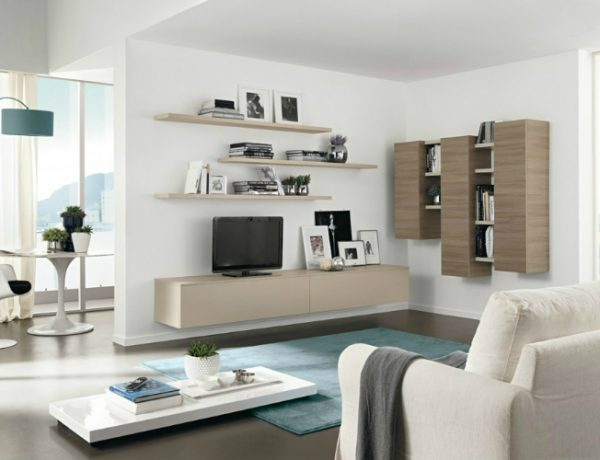 wall cabinets Top 10 Stunning Living Room Wall Cabinets For Contemporary Homes ft 4 600x460