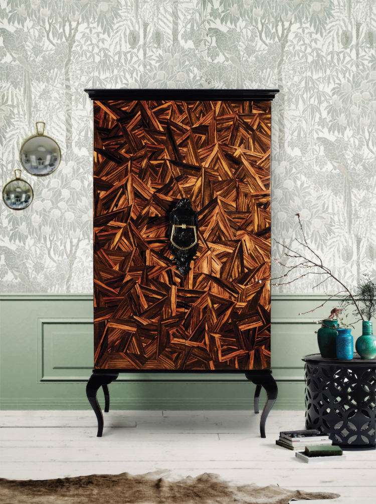 Best Tall Cabinets With Stunning Wooden Finishes
