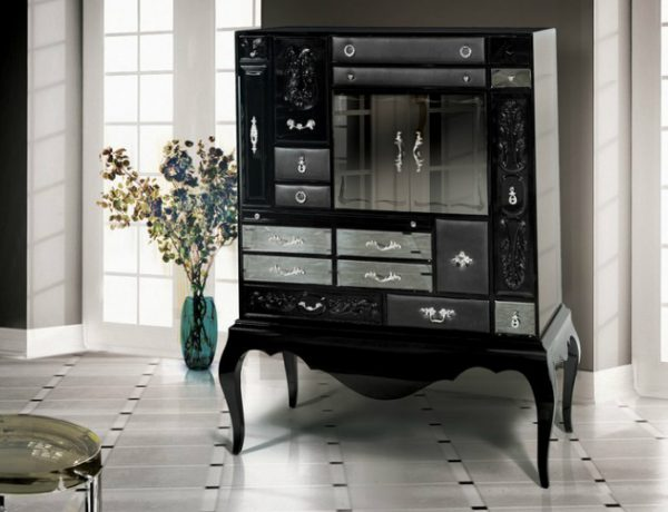 black buffets and cabinets Black Buffets and Cabinets for a modern Home Decor bbb 2 600x460
