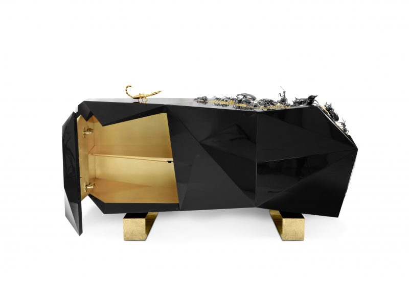 Best of interior Design: black buffets diamond metamorphosis 03 800x600