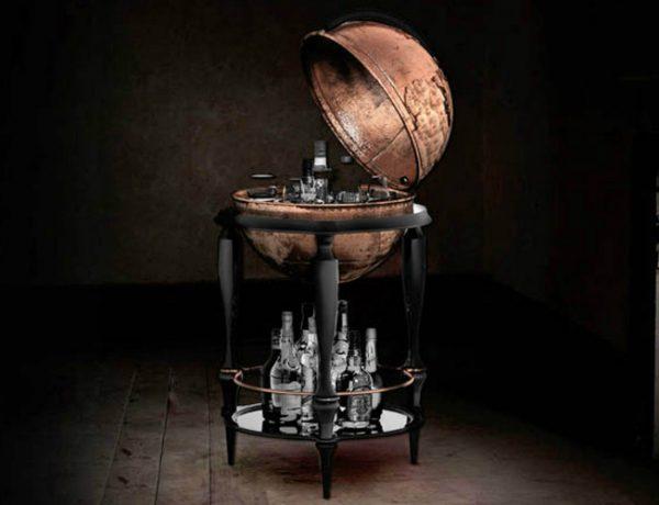 boca do lobo Breathtaking Globe Bar Cabinet by Boca do Lobo bbb 600x460