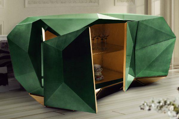 sideboard Diamond Sideboard Collection by Boca do Lobo diamond emerald 07 1 600x400