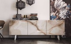 10 Stone Modern Sideboards To Fall In Love With | www.bocadolobo.com #buffetsandcabinets #sideboards #marble #luxury #luxurysideboards #luxurybrands @buffetsandsideboards