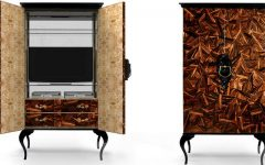 Wood Cabinets Perfect Wood Cabinets that will Improve your Living Room Decoration 000 6 240x150