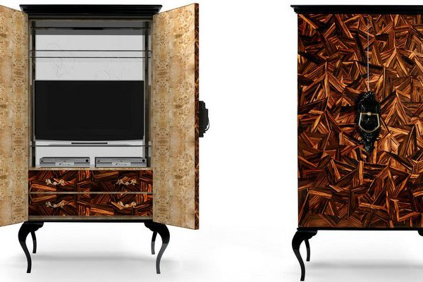 Wood Cabinets Perfect Wood Cabinets that will Improve your Living Room Decoration 000 6 600x400