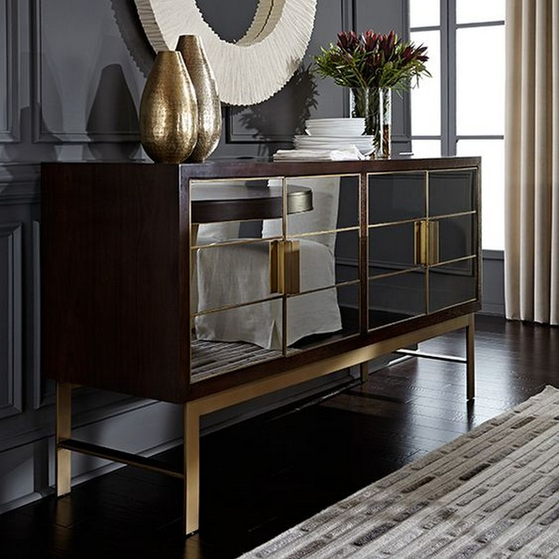 mirrored buffet sideboard the best mirrored buffets and sideboards on 4157