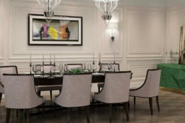 Dining Areas How to Fit a Colored Sideboard in Neutral Dining Areas 000 2 600x400