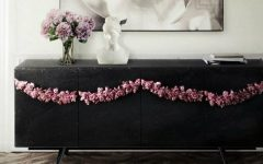 Black Sideboards Black Sideboards in a Luxury Interior Design 000 9 240x150