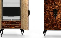 Cabinet Designs 50 Inspirational Cabinet Designs for a Luxury Dining Room 000 5 240x150