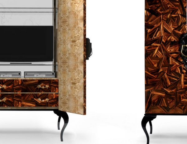 Cabinet Designs 50 Inspirational Cabinet Designs for a Luxury Dining Room 000 5 600x460