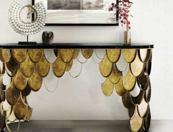 entryway table Select The Perfect Entryway Table For Your Luxury Living Room brabbu feature  600x460