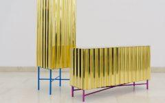 Unique Designs Unique Designs: Gold-chrome Cabinet and Console by Lanzavecchia + Wai 000 1 240x150
