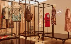 glass cabinets Glass Cabinets By Alessandro Michele For The Gucci Garden Series gucci 240x150