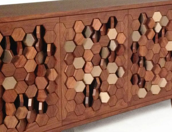 Unique Designs Unique Designs: Bionic Sideboard with Rotating Hexagons 000 9 600x460