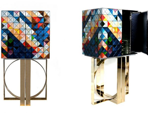 modern cabinets Discover Boca do Lobo's Modern Cabinets for this Summer pixel cabinet 600x460
