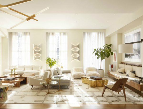 living room idea Be Inspired by Pembrooke & Ives Best Living Room Ideas Slide 25 600x460