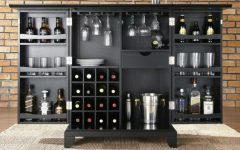 bar cabinet Stunning Bar Cabinets for True Gentlemen Stunning Bar Cabinets for True Gentleman   s 240x150