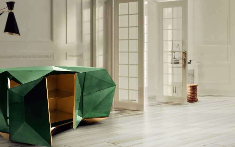 diamond Discover the Exquisite Diamond Family from Boca do Lobo diamond emerald featured 800x500  GARRISON CABINET BY DOM EDIZIONI diamond emerald featured 800x500