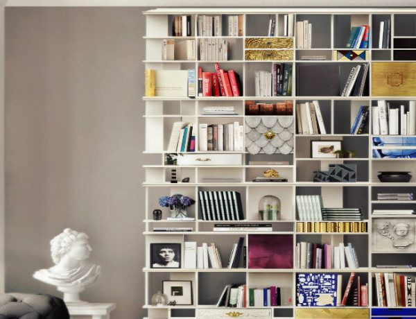 contemporary bookcases Discover Some Contemporary Bookcases By Luxury Brands featured 1 600x460
