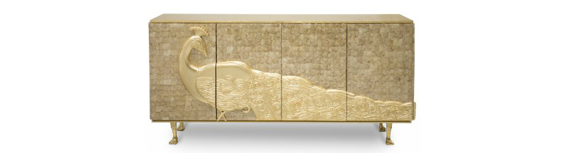 contemporary sideboard These Contemporary Sideboards Will Give A Gold Touch to Your Entryway These Contemporary Sideboards Will Give A Gold Touch to Your Entryway 5