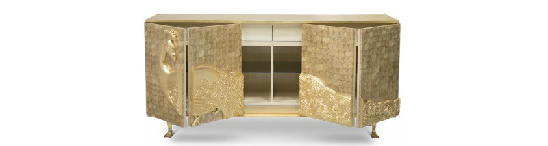 contemporary sideboard These Contemporary Sideboards Will Give A Gold Touch to Your Entryway These Contemporary Sideboards Will Give A Gold Touch to Your Entryway 6