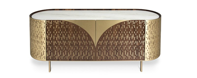 contemporary sideboard These Contemporary Sideboards Will Give A Gold Touch to Your Entryway These Contemporary Sideboards Will Give A Gold Touch to Your Entryway 9