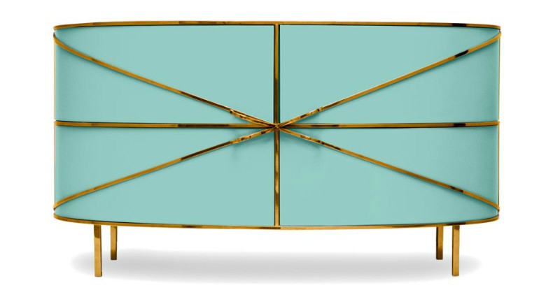 contemporary sideboard These Contemporary Sideboards Will Give A Gold Touch to Your Entryway These Contemporary Sideboards Will Give A Gold Touch to Your Entryway